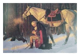 Washington In Prayer